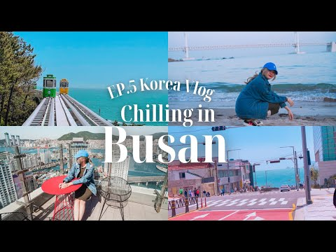 🇰🇷-Korea-vlog-EP5-:-กินลมชมทะเ