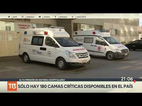 Barros Luco: Bloquean 27 camas en el hospital por paro parcial