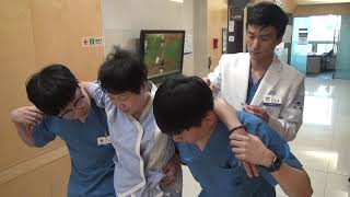 자생한방병원 디스크 두 곳이 터져 왼쪽 골반과 다리가 아픈 환자 치료 - 해운대자생한방병원 김정훈 원장