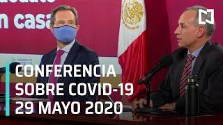 Conferencia Covid-19 en México - 29 mayo 2020