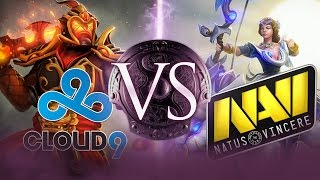Dota 2: Na'Vi and Cloud 9's Violent First Match - TI4