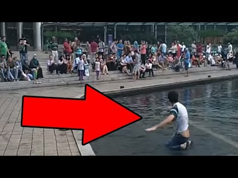Would You Help A Blind Man Who Fell Over? - Social Experiment