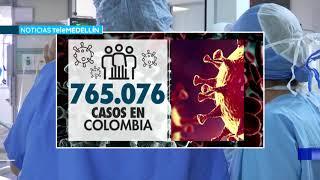 Coronavirus en Colombia: 6.678 nuevos casos y 169 fallecidos - Telemedellín