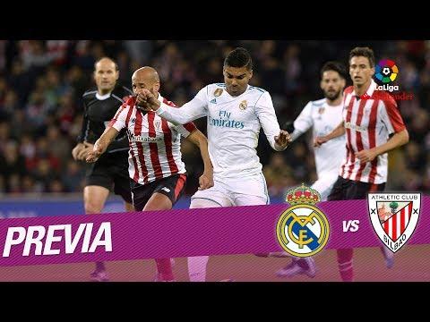 Previa Real Madrid vs Athletic Club