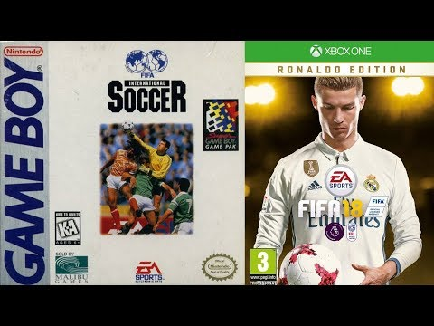 Every FIFA Cover 1993-2018 | 25 Years | Nostalgia