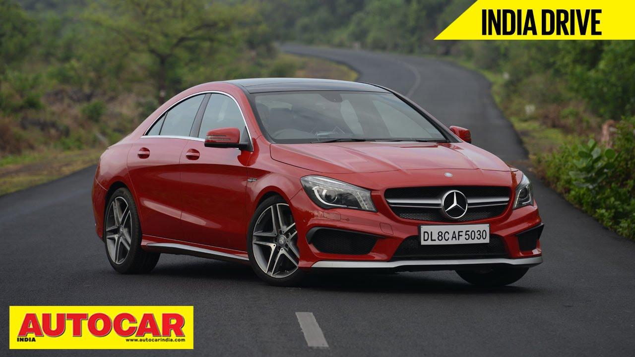 ಮರ್ಸಿಡಿಸ್ ಕ್ಲಾ 45 amg | india drive ವಿಡಿಯೋ ವಿಮರ್ಶೆ