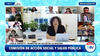 Vizzotti: Argentina tiene