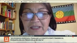 Elisa Loncon por carta de constituyentes: