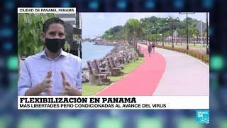 Covid-19, la vuelta al mundo de France 24: Panamá mantiene su periodo de flexibilización