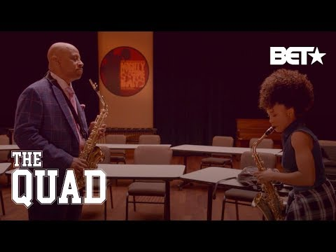 See This Epic Saxophone Battle 'You Got Served' Style | The Quad