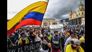 Colombia | Periodista relata la tensión por enfrentamientos entre policías y manifestantes