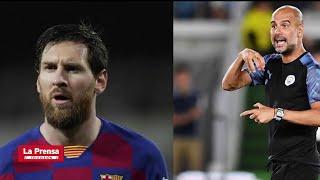 Deportes: Guardiola se refirió a la posible salida de Messi del Barcelona