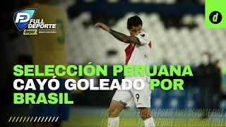 Copa América: Análisis tras la derrota de la selección peruana 4-0 ante Brasil