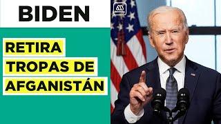 Joe Biden retira tropas estadounidenses de Afganistán