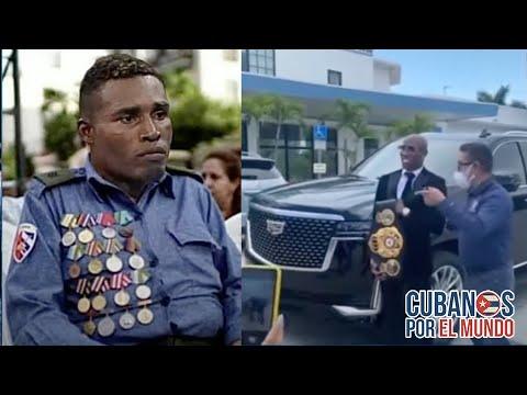 Entregan llave de Cuidad de Miami a Yordenis Ugás mientras que le dan pescado a Julio César La Cruz