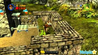 LEGO Indiana Jones 2- The Kingdom of the Crystal Skull Part 3- Bonus Levels Walkthrough 4 of 4