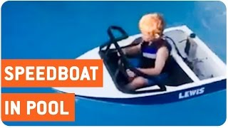 Best Childs Toy Ever | Mini-Speed Boat