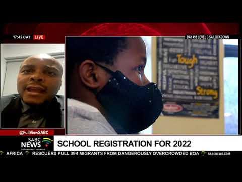 Gauteng education MEC Panyaza Lesufi announces the online applications for 2022