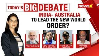 India-Australia to lead new world order? | NewsX - NEWSXLIVE