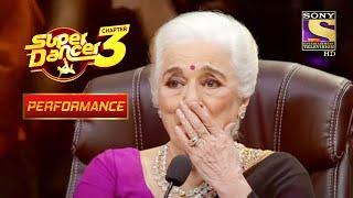 Aasha Parekh Super Dancer के Stage पर | Super Dancer Chapter 3 | सुपर डांसर 3 - SETINDIA