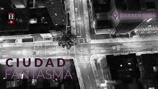 Día uno de la cuarentena por coronavirus: Bogotá desde el aire, una ciudad fantasma - El Espectador