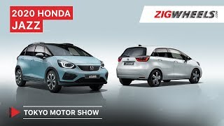 2020 Honda Jazz/Fit | Cutting Edge Cutie! | Tokyo Motor Show 2019 | Zigwheels.com