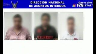 Policías fueron detenidos por pedir dinero a cambio de liberar a capturados