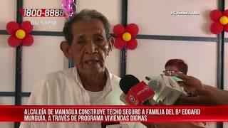 Familia fue beneficiada con vivienda digna en el Bo. Edgard Munguía – Nicaragua