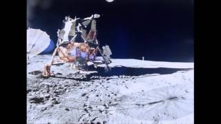 Edgar Mitchell Apollo Moonwalker Dies at 85 (silent video)