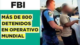 Operativo mundial: más de 800 detenidos en investigación contra crimen organizado