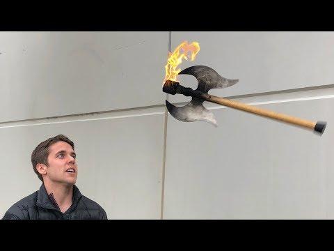 Whats inside a FLAMING BATTLE AX?