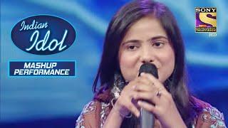 इस Contestant को Alisha जी ने बुलाया 'संगीत का भक्त' | Indian Idol | Mashup Performance - SETINDIA
