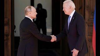Biden y Putin se reunieron este miércoles en Ginebra