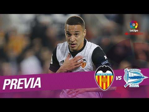 Previa Valencia CF vs Deportivo Alavés