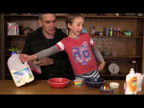 Swirly Milky Artwork | Make Science Fun the Book
