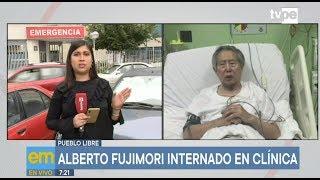 Alberto Fujimori: descartan que recaída esté ligada a reclusión de Keiko