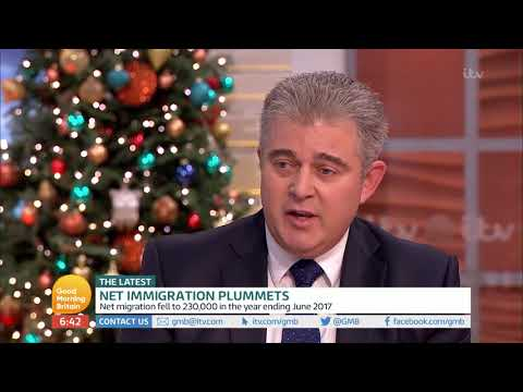 connectYoutube - Immigration Minister Comments on Net Immigration | Good Morning Britain