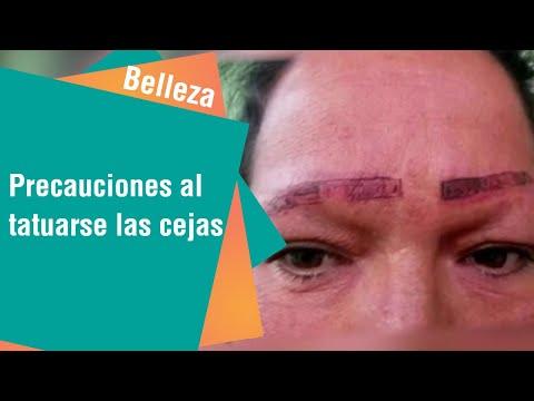 Lo que debe tener en cuenta a la hora de tatuarse las cejas | Belleza