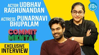Commit Mental Team Exclusive Interview | Udbhav Raghunandan | Punarnavi Bhupalam | iDream Movies - IDREAMMOVIES