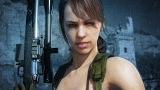 Metal Gear Solid 5: Kojima on Designing Female Sniper