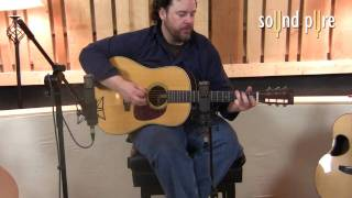 Telefunken AR51 Tube Microphone - Acoustic Guitars Video in the Recording Studio