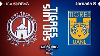 Resumen y Goles | San Luis vs Tigres | Liga BBVA MX - Guard1anes 2021 - Jornada 8