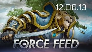 Force Feed - EQN Landmark, Riot Hates eSports, VGX 2013