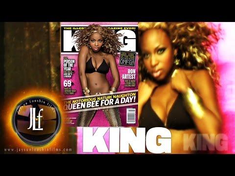 King Magazine Lil Kim