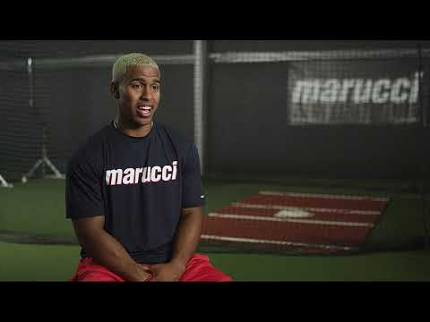 WATCH: Marucci Pro Model Francisco Lindor Maple Wood Baseball Bat: LINDY12