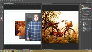 Photoshop CS6 Tutorial - 62 - Moving Layers Between Documents