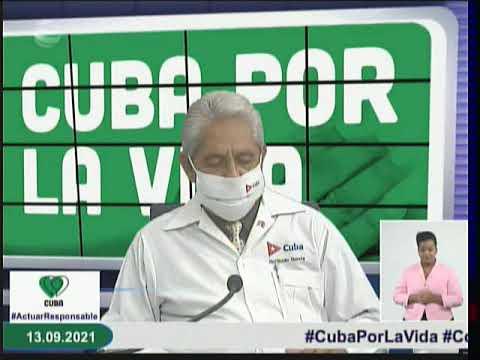 Conferencia de Prensa: Cuba frente a la Covid-19 (13 de septiembre de 2021)
