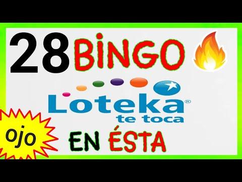 SORTEOS de LOTEKA...! (( 28 )) BINGO HOY/ PALÉ y SÚPER que más SALEN este DÍA/RESULTADOS de LOTERÍAS