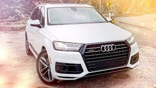 The Tech of an $80,000 Audi Q7