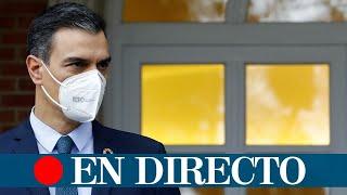 DIRECTO | Pedro Sánchez anuncia quién será el sustituto de Salvador Illa como ministro de Sanidad